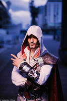 The Mentore Ezio Auditore da Firenze - Cosplay Art by LeonChiroCosplayArt