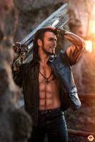 Gladiolus - Final Fantasy XV Cosplay by Leon Chiro by LeonChiroCosplayArt