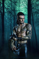 Gladiolus - Final Fantasy XV - Take your shirt off by LeonChiroCosplayArt