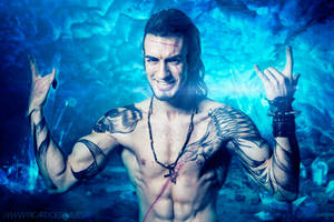 Gladiolus Cosplay - Final Fantasy XV - Proud Mode by LeonChiroCosplayArt