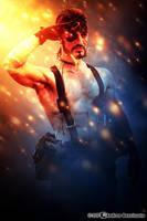A True Patrion - Naked Snake Metal Gear Solid 3 by LeonChiroCosplayArt