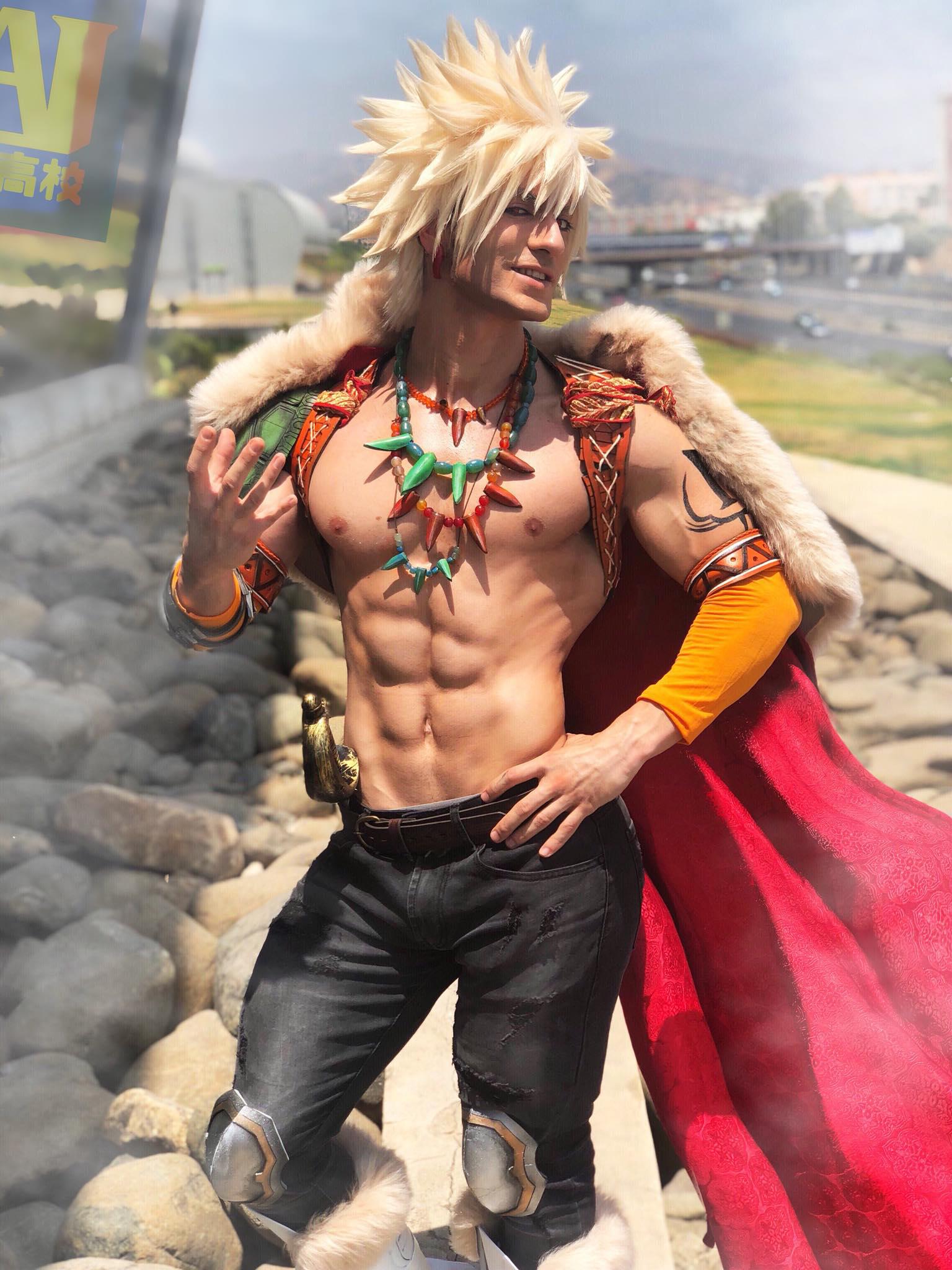 Fantasy BAKUGOU - My Hero Academia Cosplay HD by LeonChiroCosplayArt