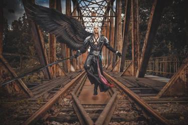 Sephiroth Cosplay - Final Fantasy Dissidia NT by LeonChiroCosplayArt