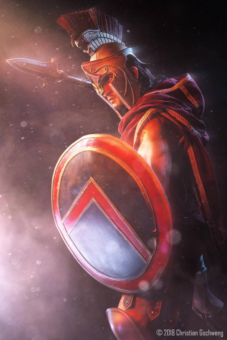 Alexios - Assassin's Creed Odyssey by Leon Chiro by LeonChiroCosplayArt