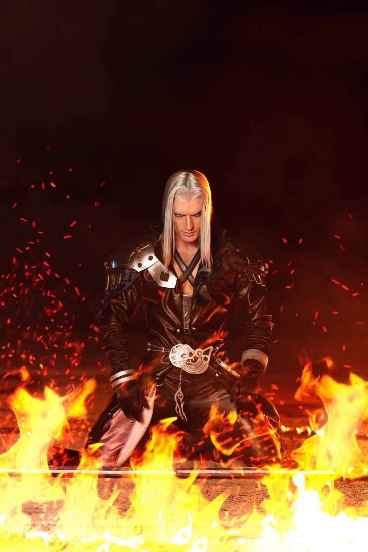 Sephiroth - Final Fantasy Dissidia NT Cosplay by LeonChiroCosplayArt