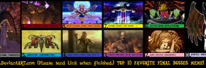 [SPOILER WARNING] My Top 10 Favorite Final Bosses by Count-Author