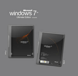 Windows 7 Ultimate Edit covers by lee13d