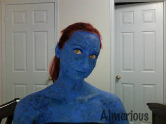 Mystique- Test by Almerious