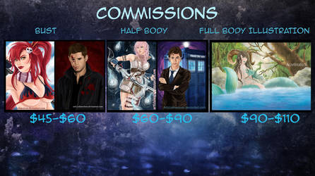 Commision Price List by Almerious