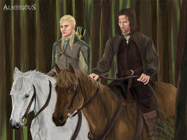 LoTR by Almerious