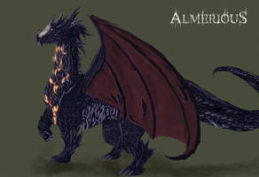 Pet Dragon by Almerious