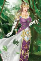 Zelda by Almerious