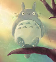 Totoro WIP by Almerious