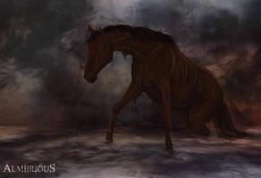 Four Horsemen - Famine by Almerious