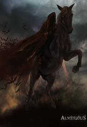 The four Horsemen by Almerious