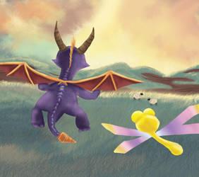 Spyro wip by Almerious