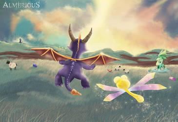 Spyro by Almerious