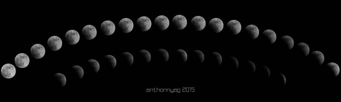 Eclipse Lunar 2015 by AnthonnyAG