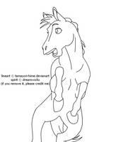 :: free lineart 02 :: by Tamayori-hime