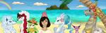 Beach Babes by joltiik