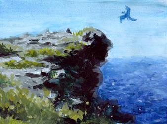 Landscape practice by kattam12