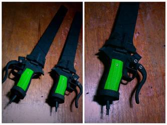 Shingeki no Kyojin (blade/sword) by knivelajfao
