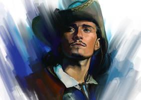 portrait by ahmeh