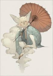 Custom Adoptable - Kitsune by IJKelly