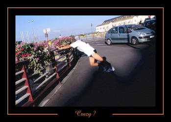 Croisic Man Crazy Man by caracal