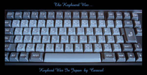 Keyboard War In Japan by caracal