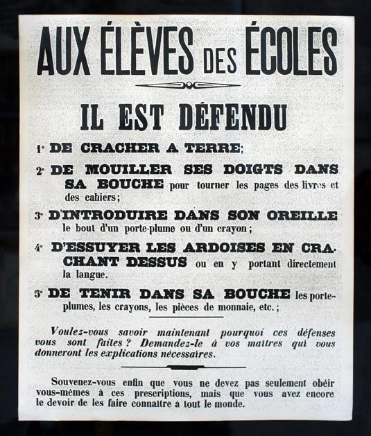 Avis Aux Eleves Des Ecoles by caracal