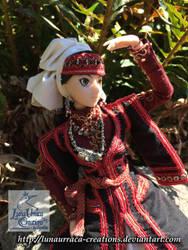 Otoyomegatari, A Bride's Story Amir doll by LunaUrraca-Creations