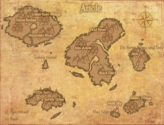 Worldmap by Blackstardemonwolf