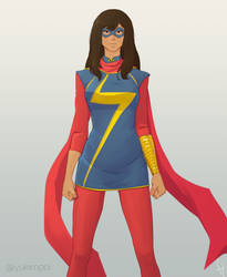 Ms Marvel by fajritabur