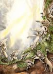 The Mushroom People by Shalladdrin