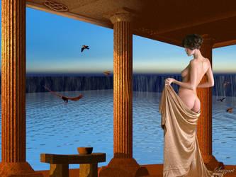 Bathhouse by Sazzart1