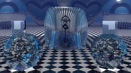 Escher Chaos5 at High Noon by Sazzart1