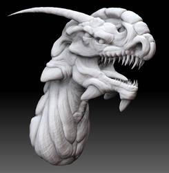 Zbrush dragon by Kirinov