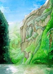 Sumidero Canyon by SaxtorphArt
