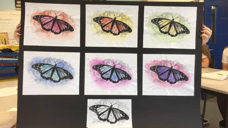 Butterflies :) by stormisnormal