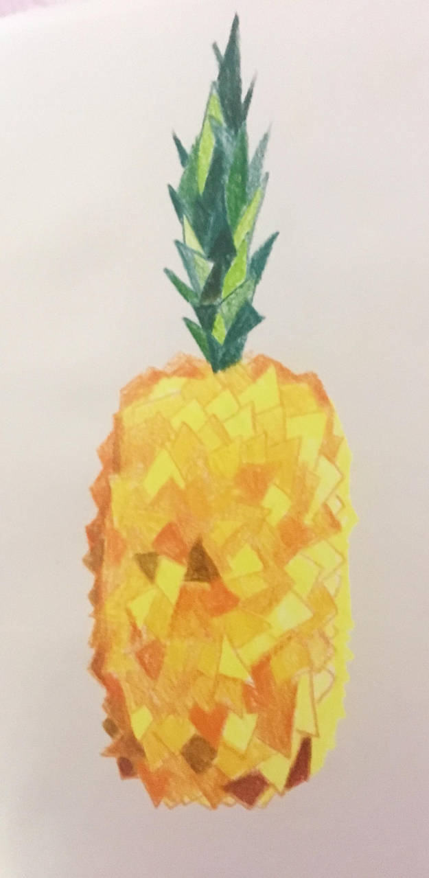 Pineapple:) by stormisnormal