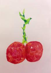Cherries:) by stormisnormal