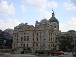 Indiana State Capitol by itsayskeds