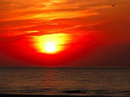 Orange Sunset by itsayskeds