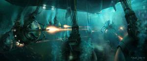 Underwater Pods by waza8i