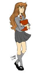Hermione by fooshigi