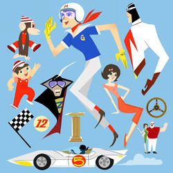 Speed Racer by fooshigi