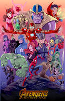 Avengers Infinity War (Full) by SEL-artworks