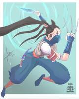 Ibuki- SF Character Design Challenge #41 by SEL-artworks