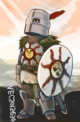 Solaire of Astora by lazyseal8